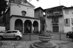Rancio, Lecco #blackandwhite #chiesa #rancio #lecco #black #church #details #mito #alfa #fontain