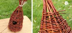 Tutorial: Willow Weaving Birdhouse. This rustic birdhouse craft is very easy to do. All you need are some willow shoots, a little time and you are set!