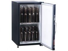 Cervejeira/Expositor Vertical 1 Porta - 112L Frost Free Gelopar GRBA 120B com as melhores condições você encontra no Magazine Jovaine04. Confira!