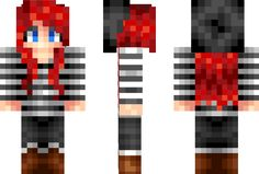 All of the beautiful skins ive admired over the internet Crafts For Girls, Diy And Crafts, Arts And Crafts, Minecraft Skins Cool, Minecraft Stuff, Mc Skins, Aphmau, Shabby Chic Furniture, Really Cool Stuff