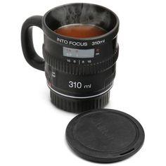 Into Focus DSLR Camera Lens Coffee Mug