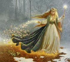 Freyja, Valhalla - La Mythologie Nordique