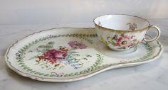 Service à thé égoïste Déjeuner en Porcelaine fin du XIXème