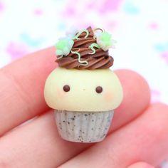 #kawaii #charms #polymer #clay #cute #cupcake