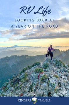 Curious what a year on the road looks like? All of the destinations we checked out, adventures we went on and a list of everything that broke along the way! Rv Travel, Travel Guides, Adventure Travel, Travel Tips, Road Trip Essentials, Road Trip Hacks, Rv Hacks, Camping Hacks, Road Trips