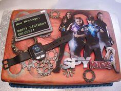 Spy Kids Birthday Cake cakepins.com