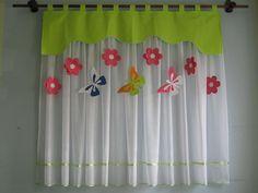 Good Vorhang Set Fensterdeko Kinderzimmer Motiv gr n cm Handarbeit Kinder
