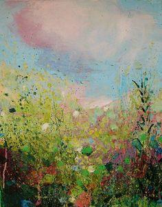 "Saatchi Online Artist Sandy Dooley; Painting, ""Sunshine, Birdsong  (sold)"" #art"
