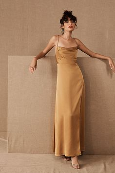Fame and Partners Rosabel Dress by in Yellow Size: Women's Dresses at Anthropologie Spring Bridesmaid Dresses, Prom Dresses, Evening Dresses, Dress Prom, Fall Dresses, Long Dresses, Mustard Bridesmaid Dresses, Spring Formal Dresses, Vintage Formal Dresses