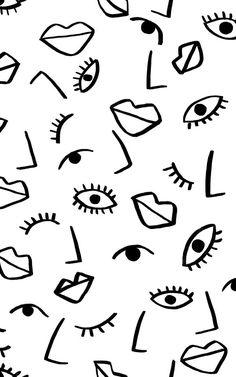Papel pintado Efecto Cara - Wandbilder Hintergrund Papel pintado Efecto Cara - Wandbilder Hintergrund, Une nouvelle rénovation en même temps que Menu peut considér Paper Wallpaper, Print Wallpaper, Iphone Wallpaper, Bedroom Wallpaper, Wallpaper Murals, Wall Murals, Eyes Wallpaper, Eye Illustration, Pattern Illustration