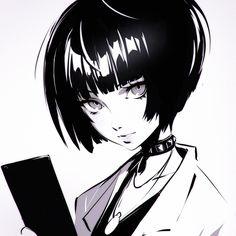 Kuvshinov Ilya: Tae Takemi from Persona 5 5 Anime, Dark Anime, Anime Sexy, Japon Illustration, Arte Obscura, Estilo Anime, Persona 5, Character Design Inspiration, Anime Art Girl