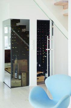 Praktik og æstetik i højsædet Oslo, Home Wine Cellars, Appartement Design, In Vino Veritas, Wine Storage, Decoration, Scandinavian Design, Home Kitchens, Interior And Exterior