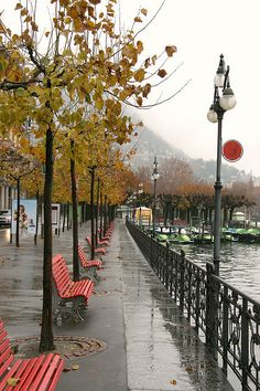 Boardwalk - Lake Lugano, Switzerland