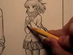 How to Draw Clothes for Manga/Comic Books, Part 1