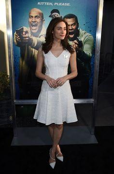 Emmy Rossum Cocktail Dress