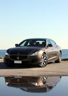 View 2014 Maserati Quattroporte Photos from Car and Driver. Find high-resolution car images in our photo-gallery archive. Maserati Quattroporte, Luxury Car Brands, Luxury Cars, Maserati Models, Maserati Car, Maserati Ghibli, Automobile, Used Engines, Car Images