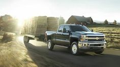 We didn't just stop at the 2014 Silverado, the 2014 North American Truck of the Year. Check out the new 2015 Chevy Silverado HDs: http://pbxx.it/3sS2