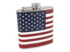 US American Flag Flask