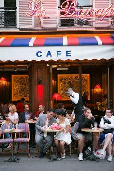 Le Bonaparte Cafe, Paris      ᘡղbᘠ