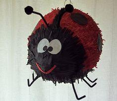 Pinata: Adorable Ladybug. $50.00, via Etsy.