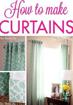 Curtains!!