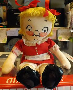 Campbell Kids Vintage 1973 Rag/Cloth Doll Rare