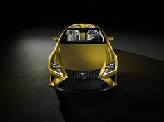 Lexus laat dakloze LF-C2 Concept debuteren in LA