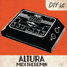 Zeppelin Design Labs has introduced the Altura - a theremin-style MIDI controller that's available pre-built or as as DIY project. Diy Electronics, Electronics Projects, Diy Electronic Kits, Design Lab, Zeppelin, Diy Kits, Diys, Easy Diy, Best Gifts