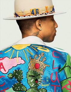 Pharrell Williams para GQ Style Alemania