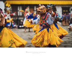 https://flic.kr/p/26qqFny | Dance of the Rakshas, Gasa Tshechu, Gasa, Bhutan | Capture of the traditional Dance of the Rakshas during the Gasa Tshechu, Gasa, Bhutan, March 2018.