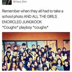 Jungkook graduation BTS Look at the scared baby 😂😂❤❤ Jikook, Kookie Bts, Bts Bangtan Boy, Jungkook School, Namjin, Vkook Memes, Bts Tweet, Bts Memes Hilarious, School Photos