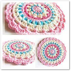 Mandala Rug Free Crochet Pattern