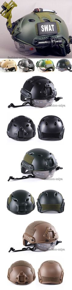 Hats and Headwear 177892: Tactical Gear Airsoft Paintball Swat Protective Fast Helmet Outdoor Military Hat -> BUY IT NOW ONLY: $32.8 on eBay!