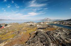 Nuuk en Groenlandia