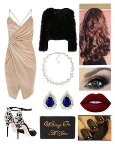 """""""We gonna be alright"""" by jrtominski ❤ liked on Polyvore featuring Boohoo, Dolce&Gabbana, Lime Crime, Carolee and John Lewis"""