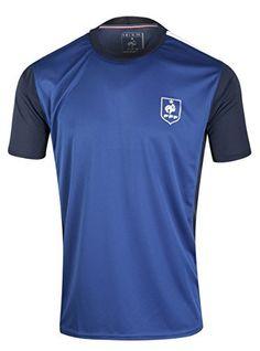 0cb7ff2e405 Maillot FFF – Collection officielle Equipe de France de Football – Taille  enfant garçon  Collection