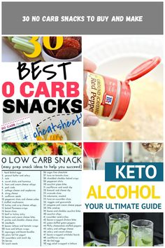 30 keto and low carb no carb snacks that make easy no carb meals and snacks on the go when you're looking for near zero carb foods and recipes. #keto #ketodiet #ketogenic #lowcarb #sugarfree #glutenfree #lchf #diettips #healthyeating #easyrecipes diet menu 30 No Carb Snacks to Buy and Make