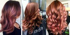 Stunning Rose Gold Hair Ideas!!! - The HairCut Web