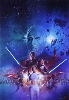 Star wars episode ll, attack of the clones artwork