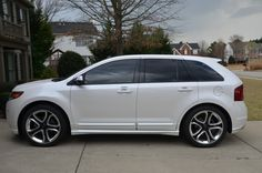 2012 Ford Edge Sport... Will have one as my next car. Its about that time again... :)