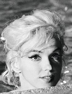 """Marilyn Monroe, """"Something's Got To Give"""", 1962."""