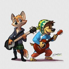 Darma and Bodi, Rock Dog fan art