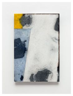 oil and graphite on marble  Exhibition - Brice Marden - Works in Exhibition - Matthew Marks Gallery