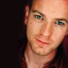 Ewan MacGregor. wow. um, I think I need a moment, or two...alone..with this man..and his scottish accent. sigh