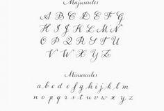 """Résultat de recherche d'images pour """"calligraphie déliés"""""""