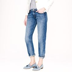 Pin for Later: See J.Crew's New Jeans From Every Single Angle J.Crew Point Sur Denim J.Crew Point Sur Vintage X-Rocker Selvedge Jean in Manfred Wash ($268)