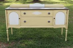 Painted Buffet by Chrissie's Collection