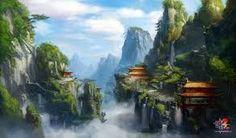 Image result for 游戏场景概念