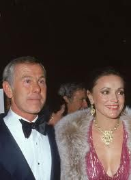 Johnny Carson and Joanna Holland his third wife.