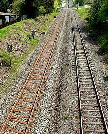 Railroad tie - Wikipedia, the free encyclopedia